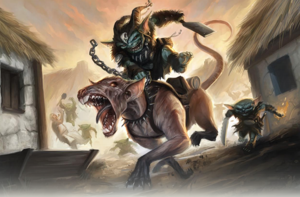 Image result for goblin vs rat