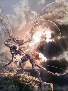 Dragon_summoned_from_Hell_by_Ahyicodae