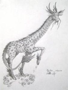 Qilin-giraffe-like
