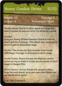 Heavy Combat Drone