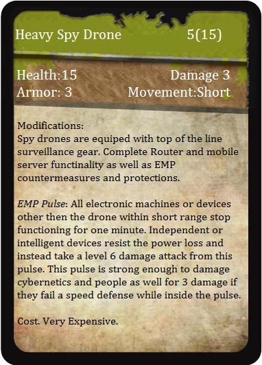 Heavy Spy Drone