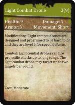 Light combat Drone