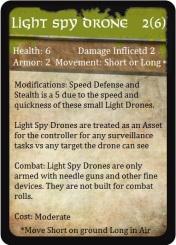 Light Spy Drone