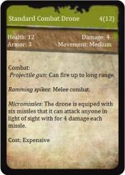 Standard Combat Drone