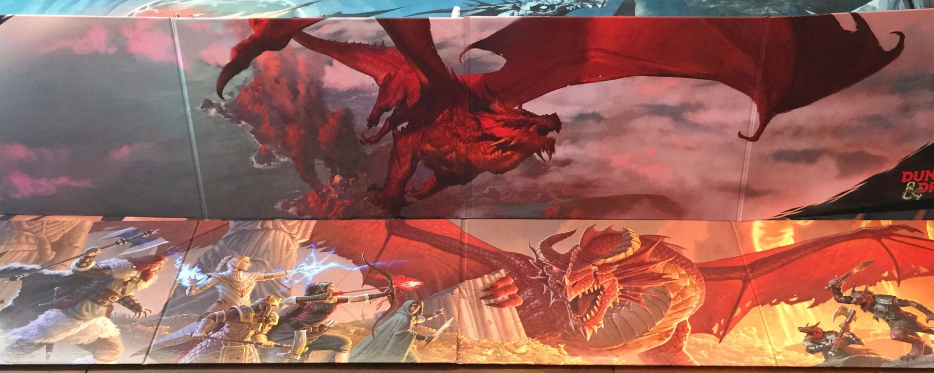 Hands on look at the D&D 5E GM Screen Reincarnated – Runkle