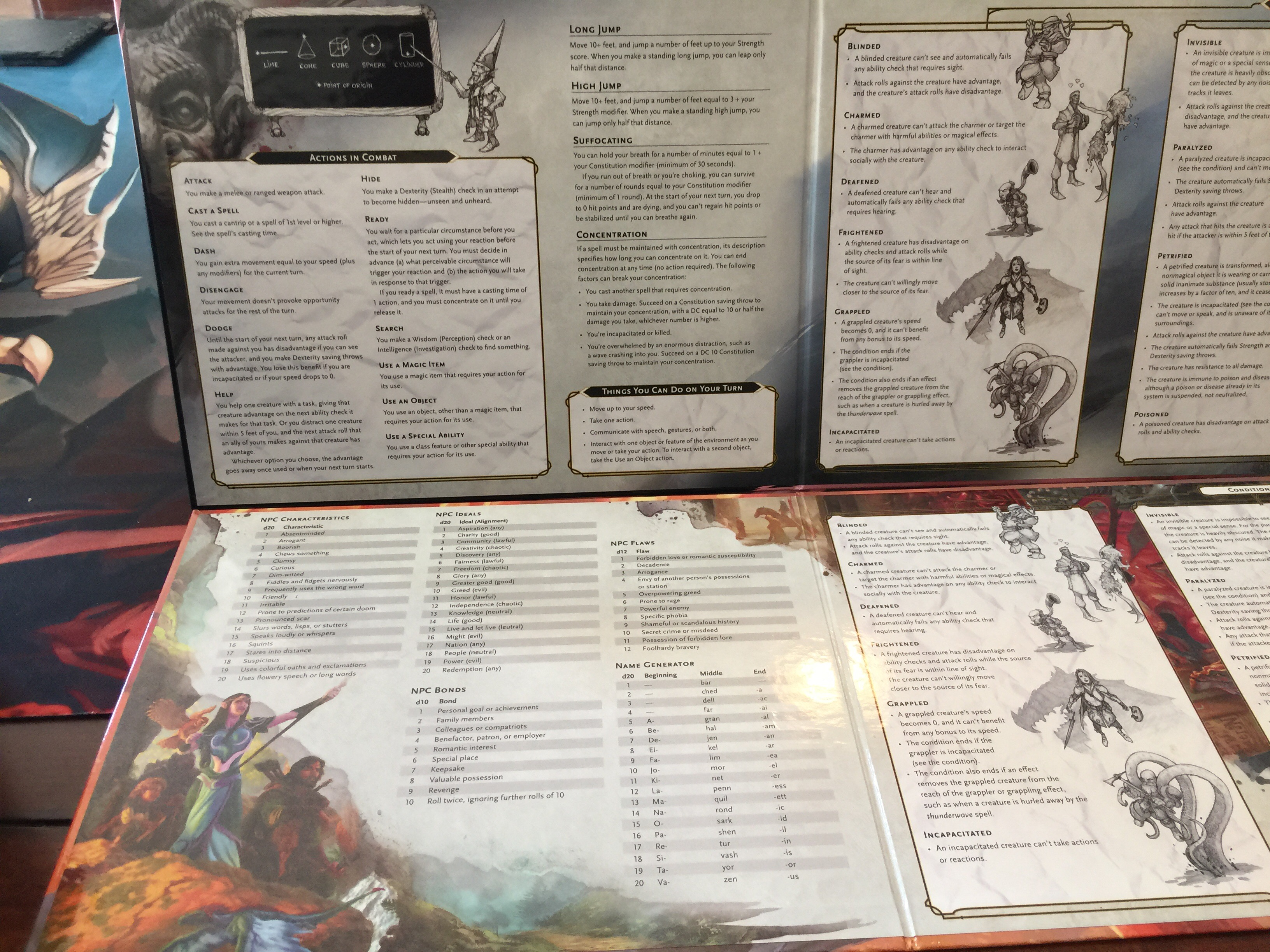 graphic relating to Printable Dm Screen identified as Arms upon feel at the DD 5E GM Show Reincarnated Runkle